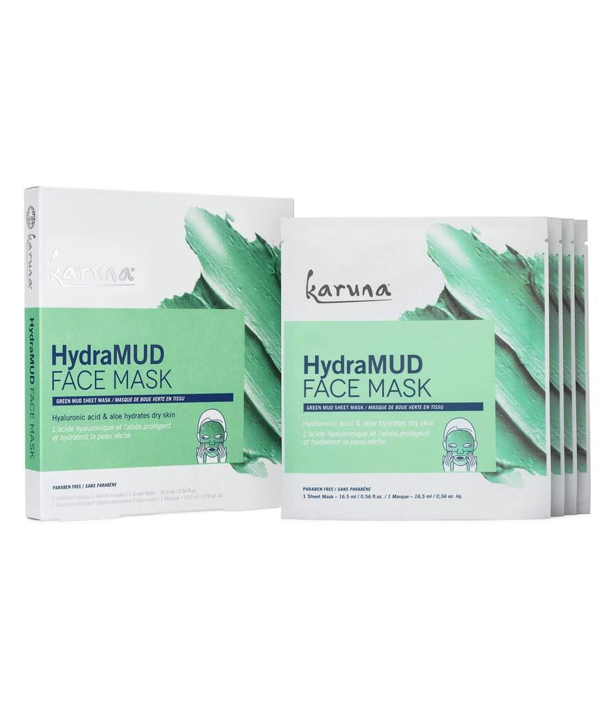 Sheet Masks - HydraMUD Face Mask Box - Karuna Skin