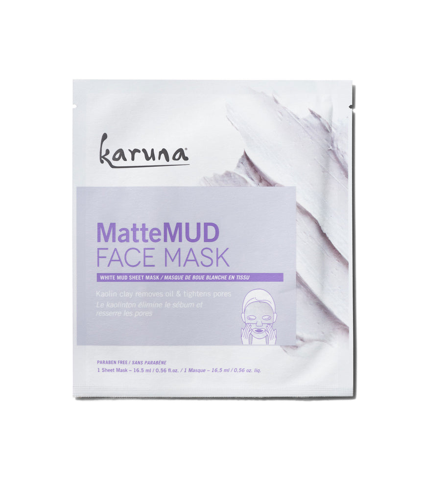 Sheet Masks - MatteMUD Face Mask - Karuna Skin