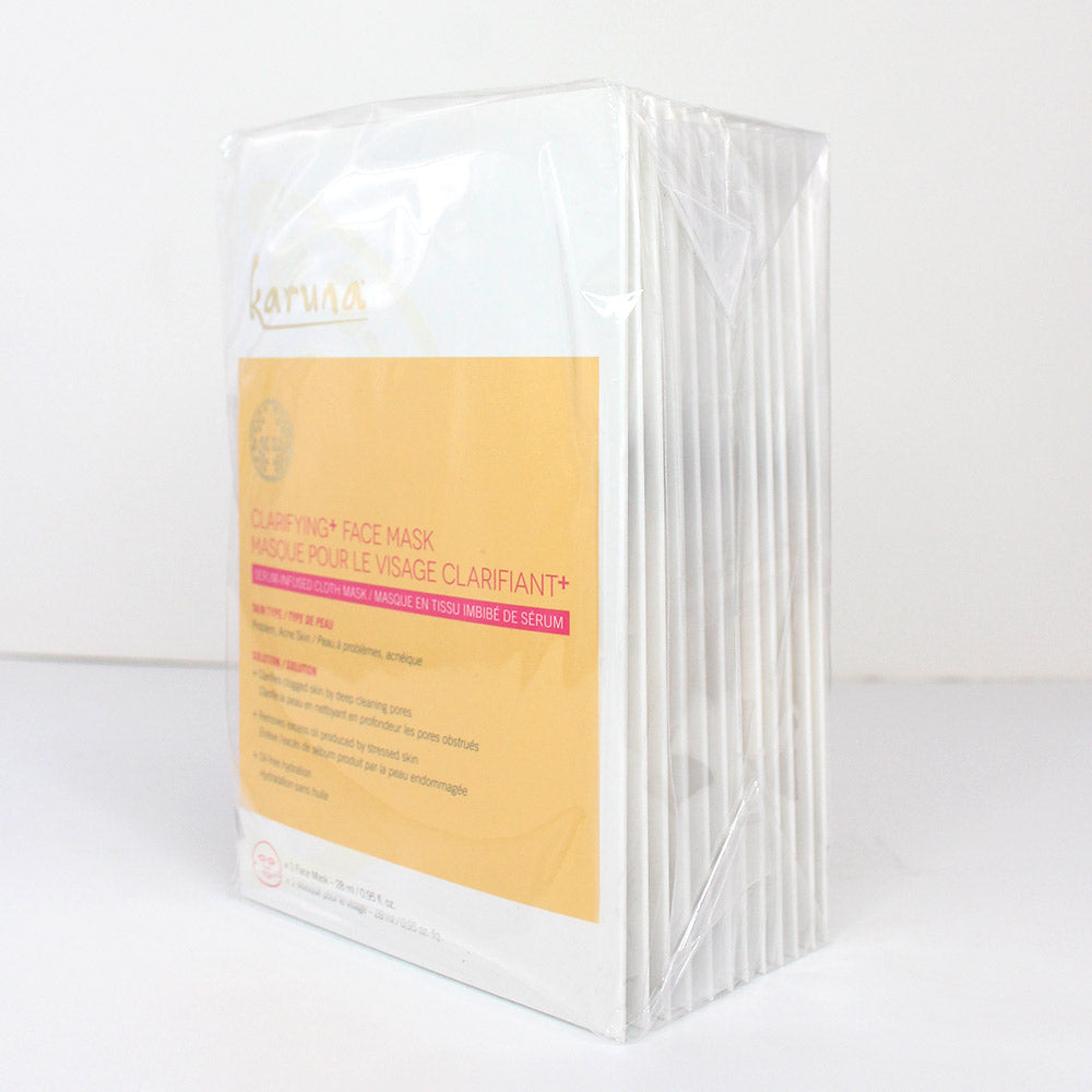 Sheet Masks - 12-Pack Clarifying+ Face Mask - Karuna Skin