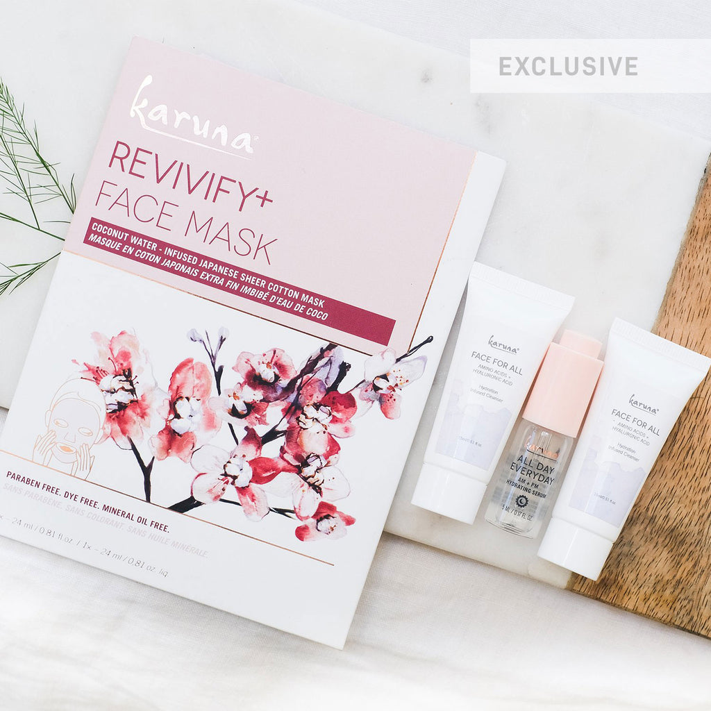 Clean+ Mini Beauty Bundle