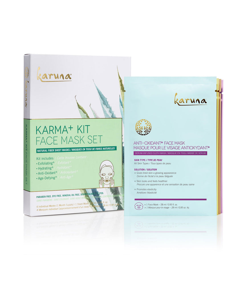 Sheet Masks - Karma+ Kit - Karuna Skin