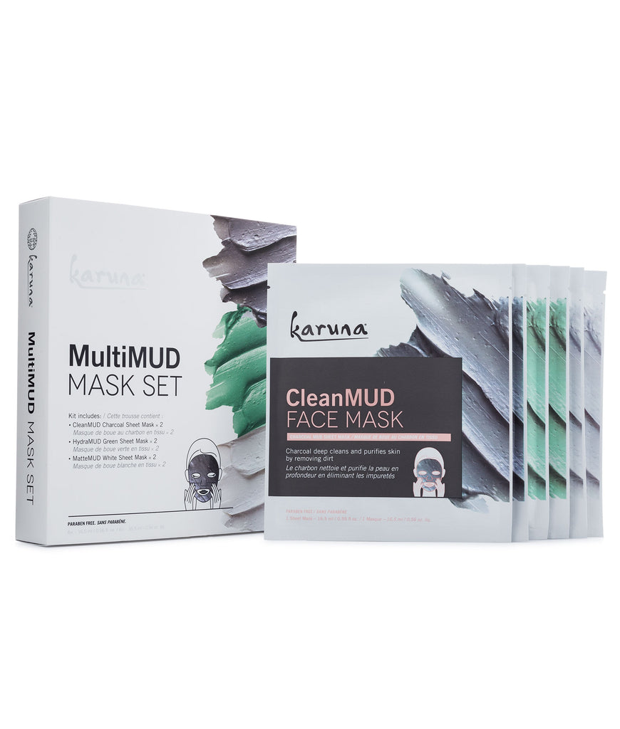 Sheet Masks - MultiMUD Mask Set - Karuna Skin
