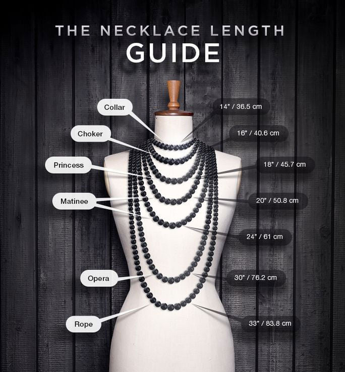 A Quick Guide to Choosing Your Necklace Length