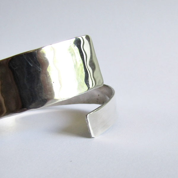 Sterling Silver Bypass Bangle Bracelet