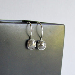 Gray Diamond Earrings