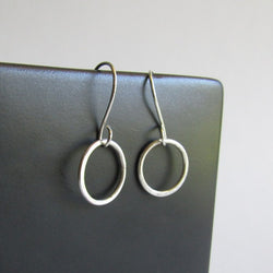 Sterling Silver Hoop Earrings - Small