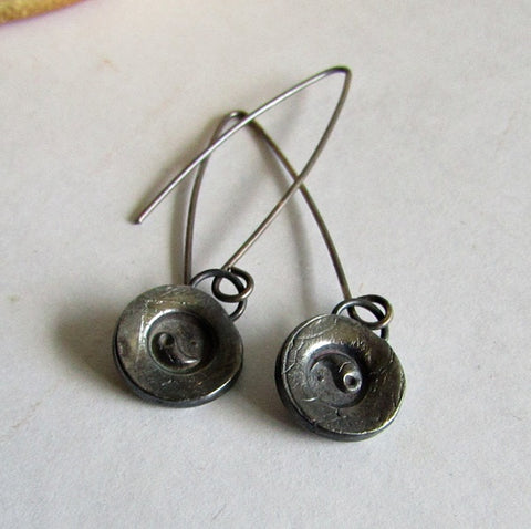 Simple Yin Yang Earrings