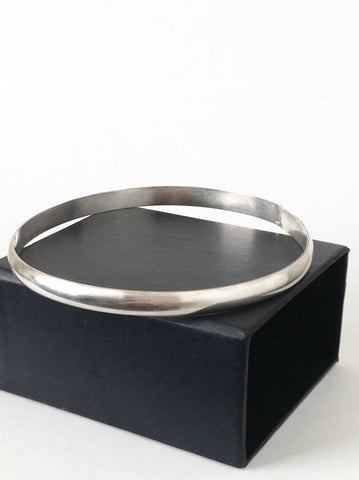 Sterling Silver 6 mm Bangle Bracelet