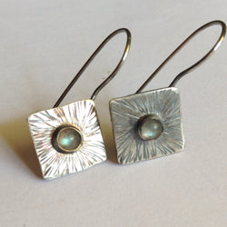 Labradorite Sunburst Earrings