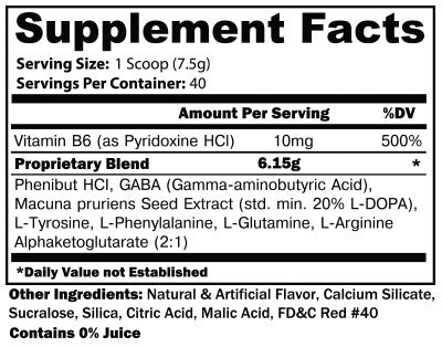 NOXITROPIN PM BERRY BANANA SUPPLEMENT FACTS