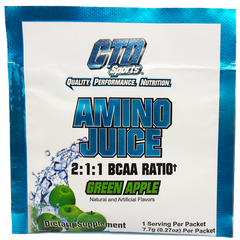 CTD Sports Amino Juice Green Apple Sample