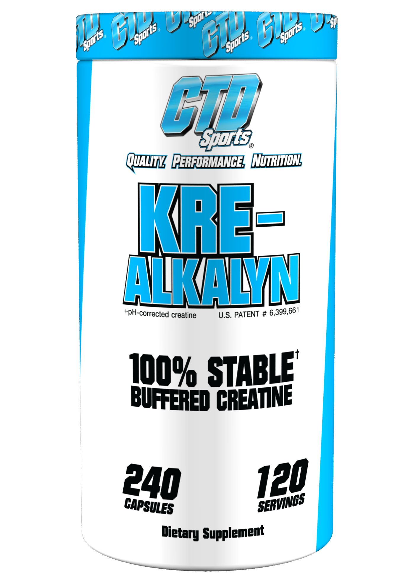 CTD Sports Kre-Alkalyn 240ct