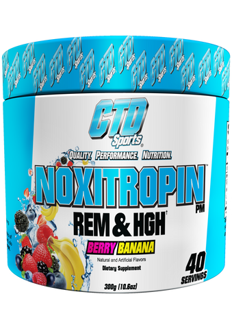 CTD Sports Noxitropin PM Berry Banana