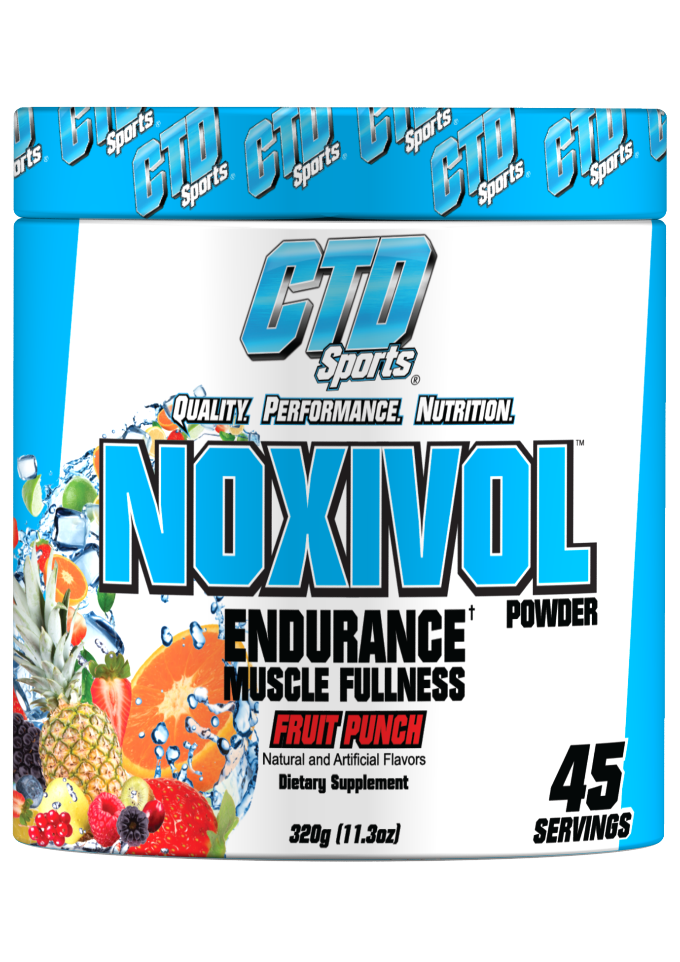 CTD Sports Noxivol Powder Fruit Punch