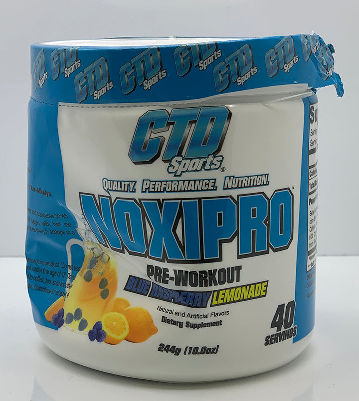 DENTED - NOXIPRO BLUE RASPBERRY LEMONADE