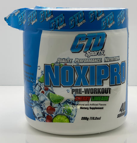 DENTED - NOXIPRO CHERRY LIMEADE