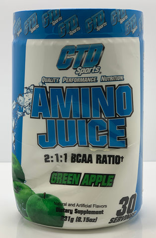 DENTED - AMINO JUICE GREEN APPLE