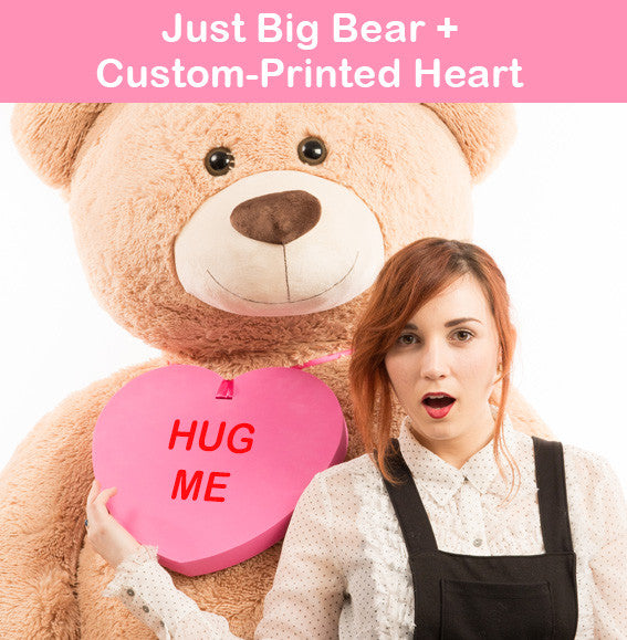 Just Big Bears + Conversation Heart