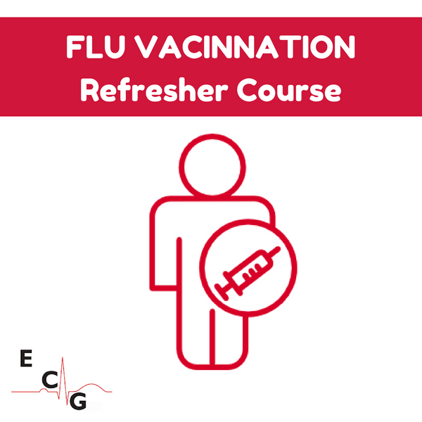 Flu Vaccination Online Refresher course £24.00