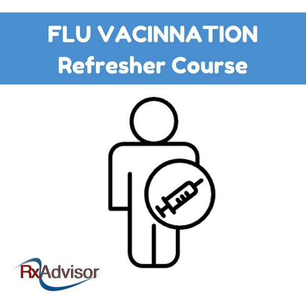 Flu Vaccination Online Refresher Course (Discounted now £19.99)