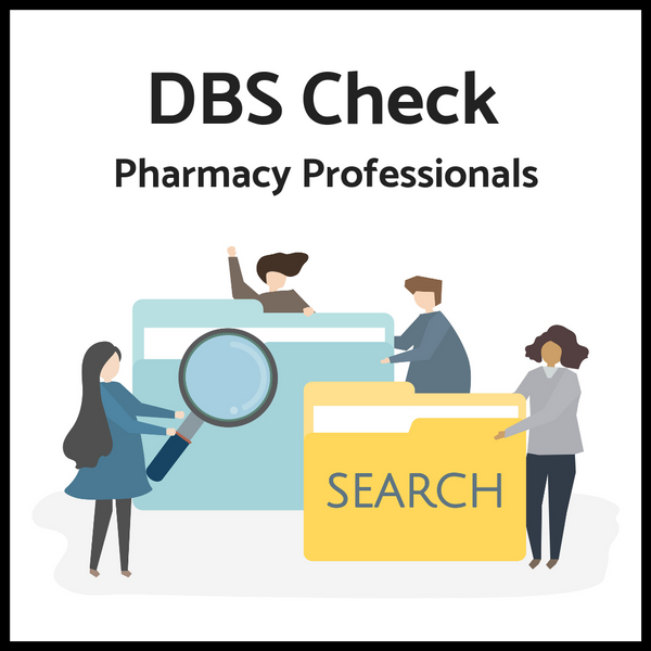 DBS Checks for Pharmacy Professionals (Price inclusive of VAT)