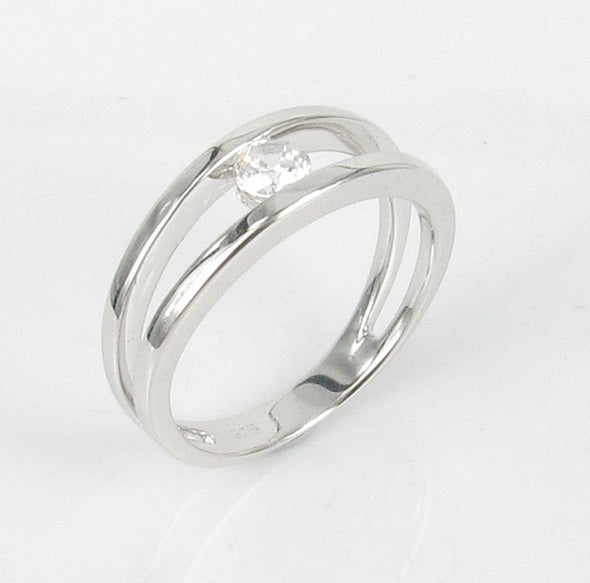 Sterling Silver Acacia Ring - Sterling Candle
