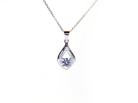 Sterling Silver Annalisa Necklace - Sterling Candle