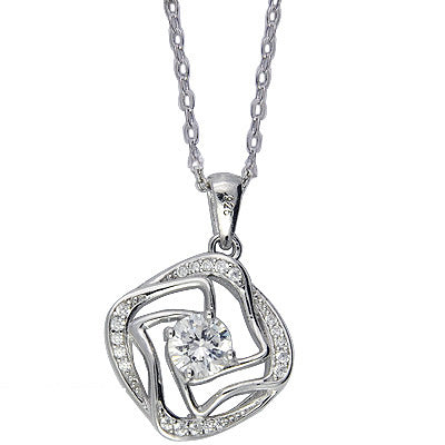 Sterling Silver Phyllis Necklace - Sterling Candle