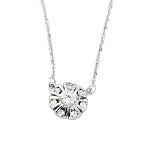 Sterling Silver Talia Necklace - Sterling Candle