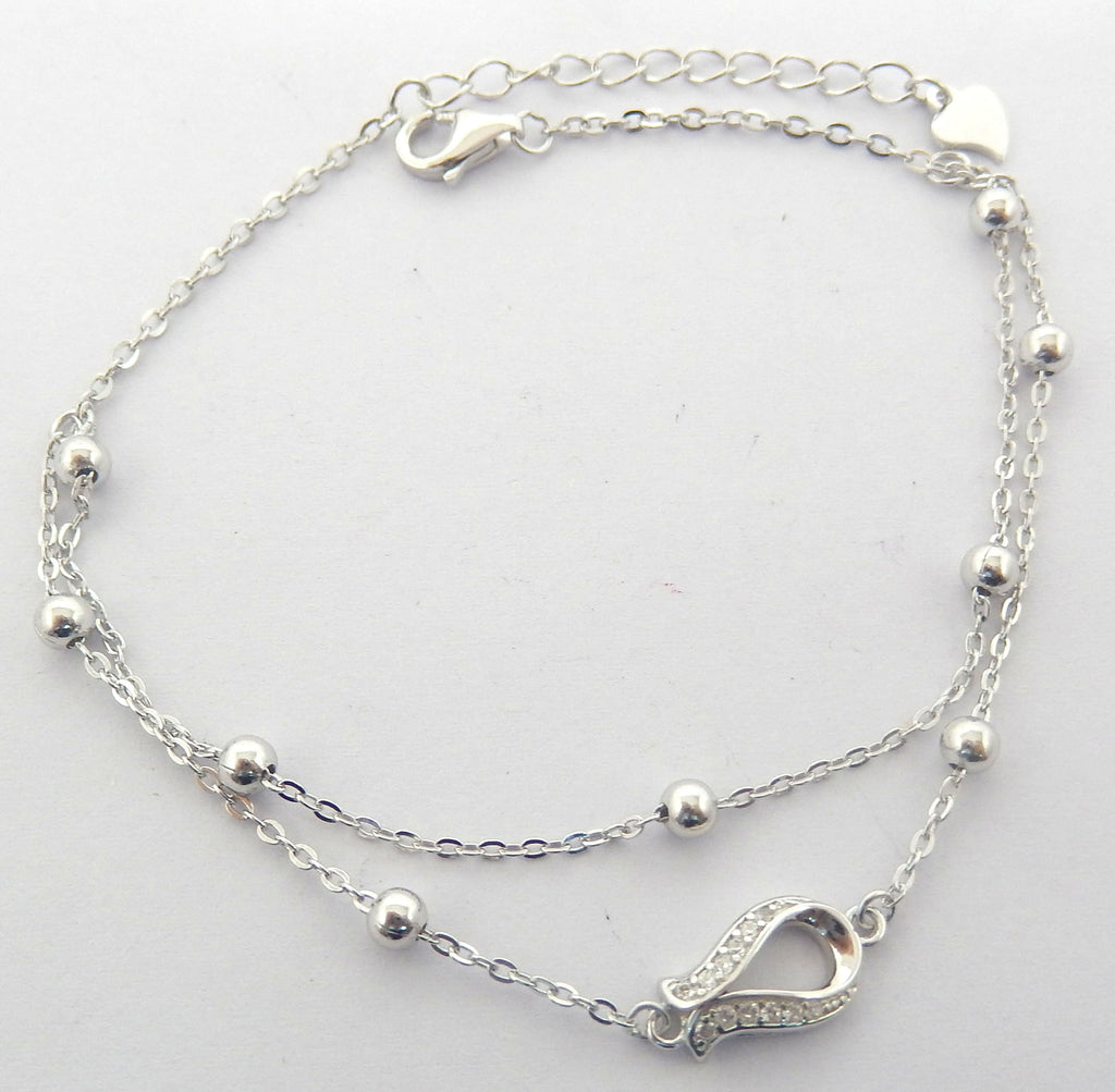Sterling Silver Jeanetta Bracelet - Sterling Candle