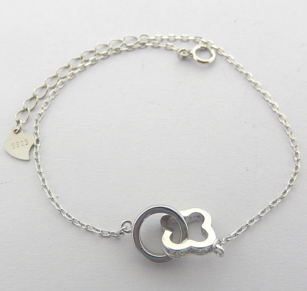 Sterling Silver Sharalyn Bracelet - Sterling Candle