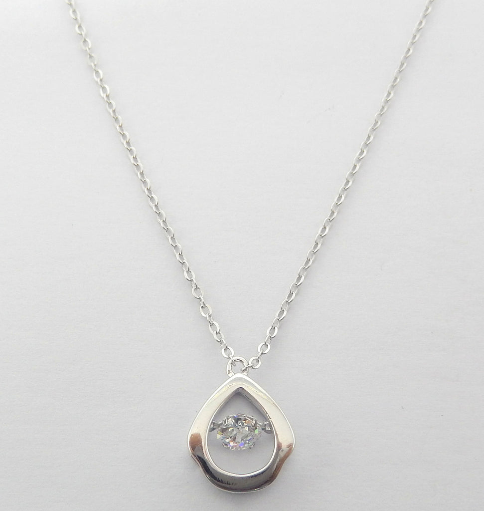 Sterling Silver Floretta Necklace - Sterling Candle