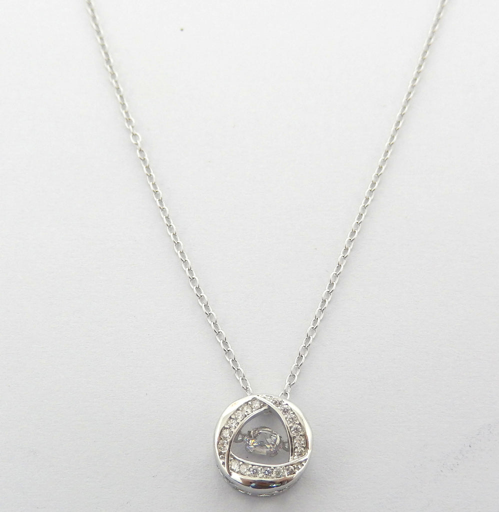 Sterling Silver Esmerie Necklace - Sterling Candle