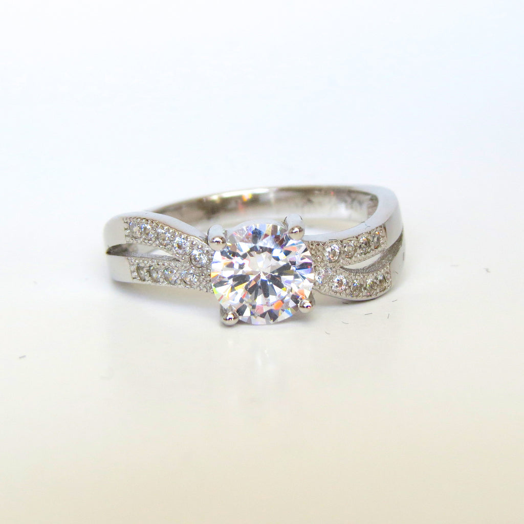 Sterling Silver Khristine Ring - Sterling Candle