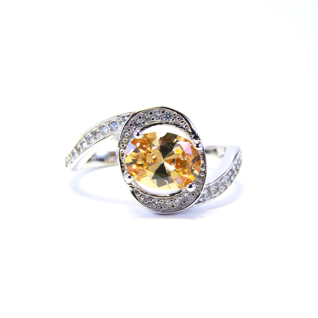 Sterling Silver Rosabelle Ring - Sterling Candle