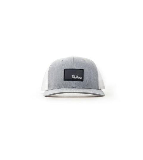 Logo Trucker Hat - Heather Grey