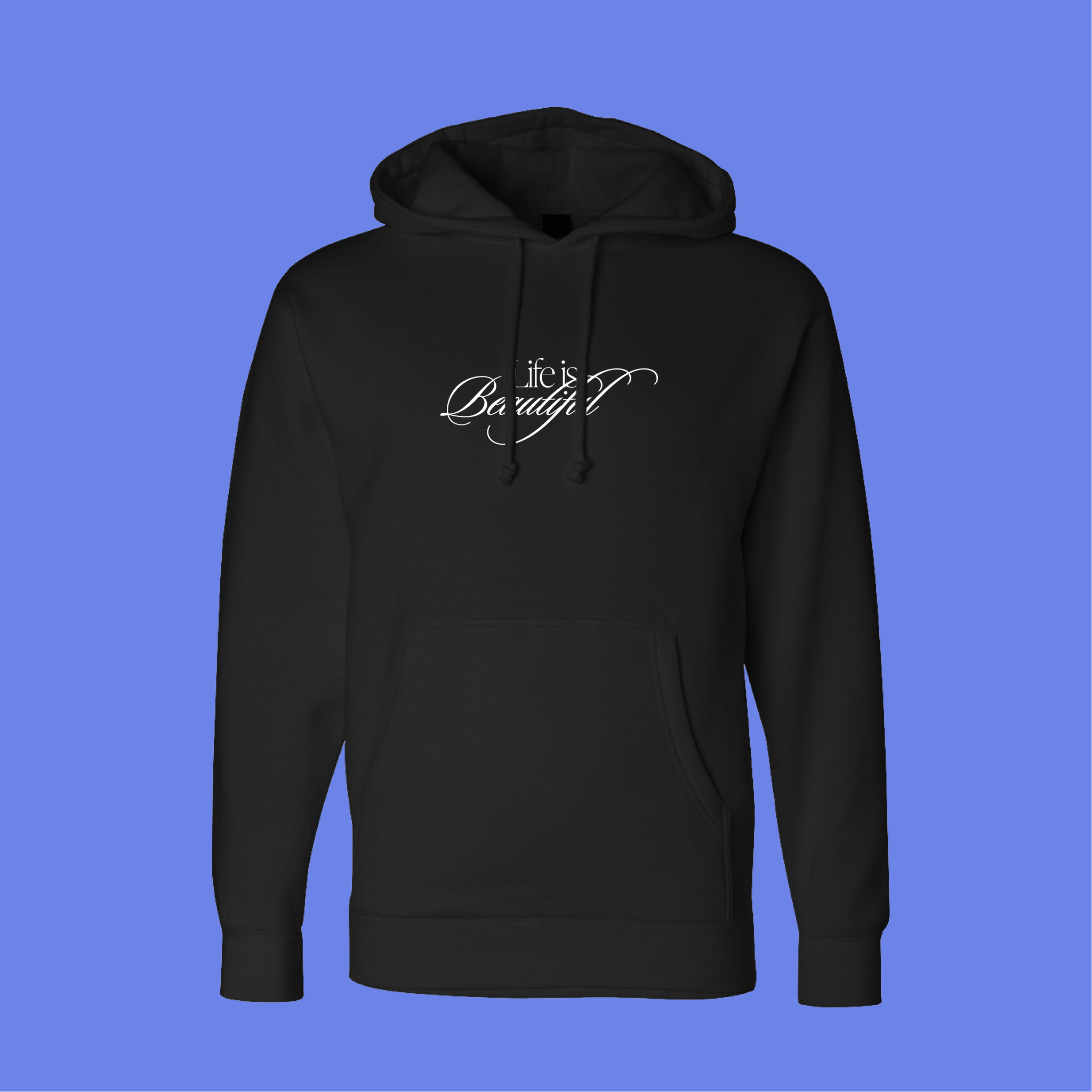 Sunset Script Hoodie by Ordinary Chin