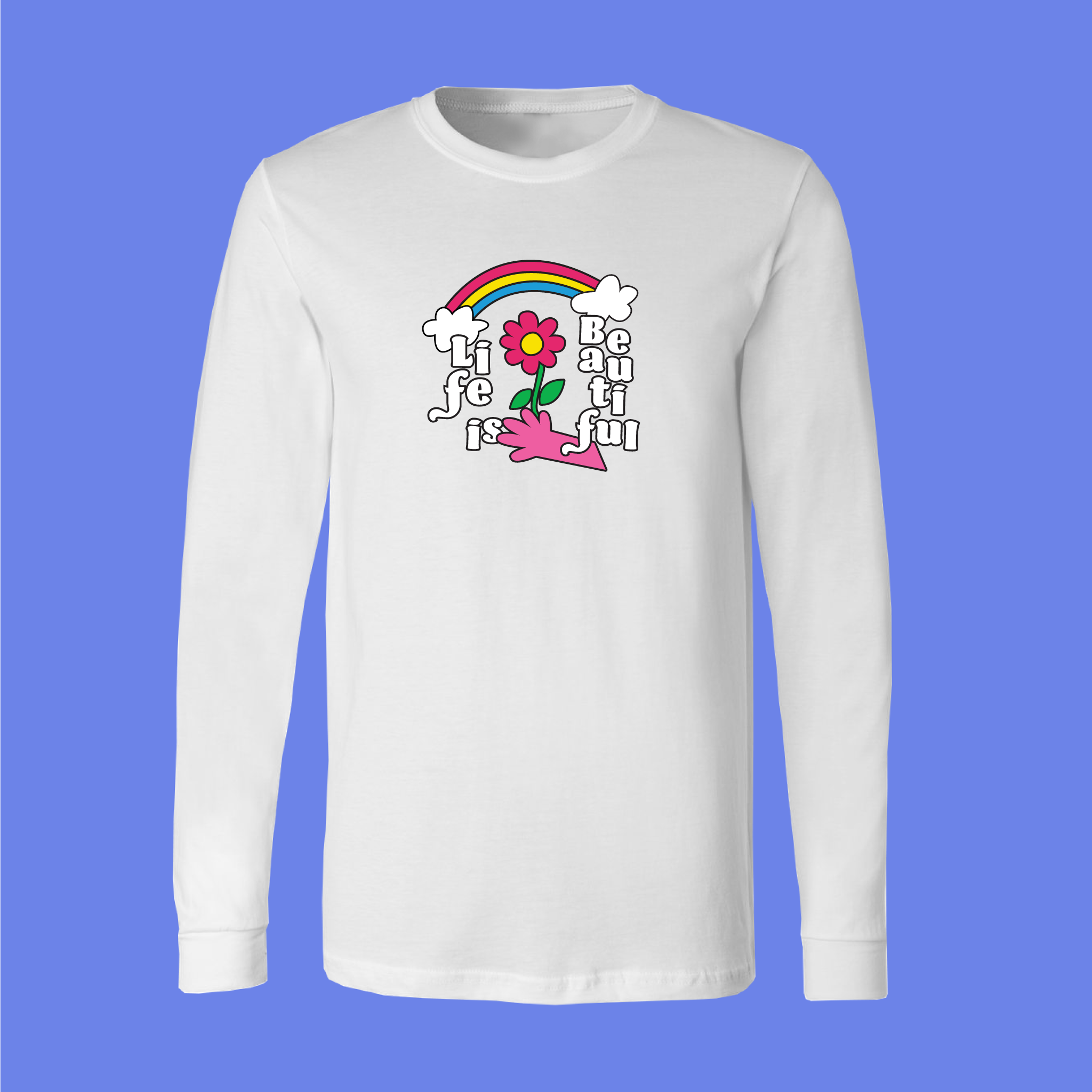 Flower Rainbow Longsleeve by Demir Mujagic