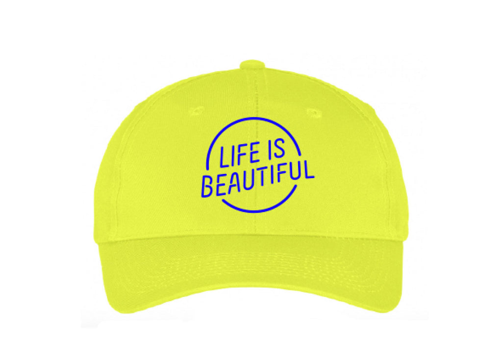 LC-10  Dad Cap Neon Yellow