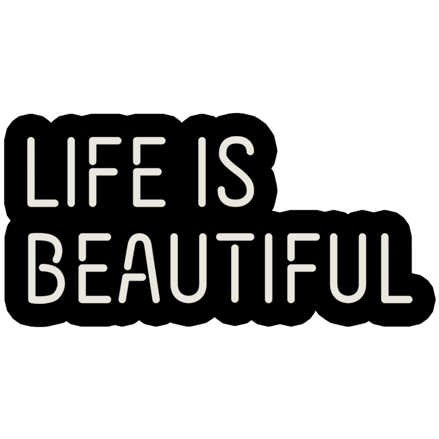 "Life Is Beautiful 1"" PIN"