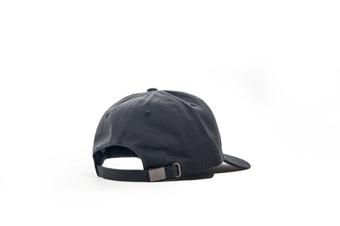 Flipped Logo Dad Hat - Black