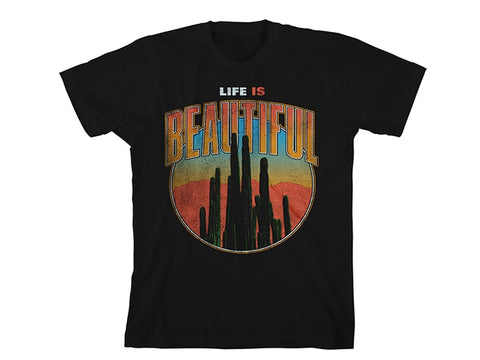 Desert T-Shirt in Black