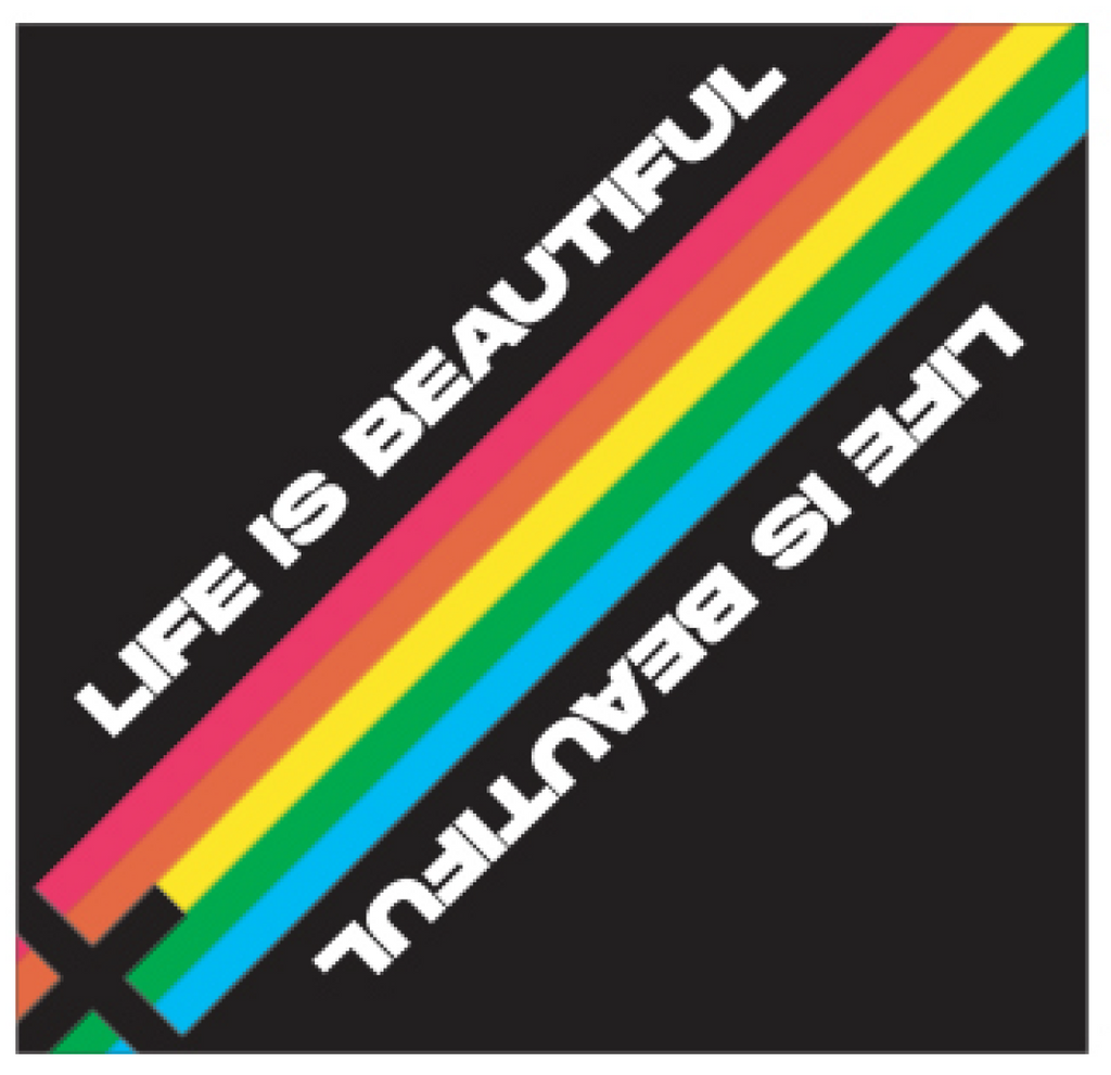 LB-2 Supersoft Bandana Rainbow