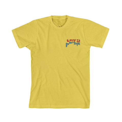 Vintage Yellow Cat Tee