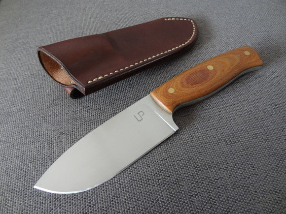 Handmade knife and sheath