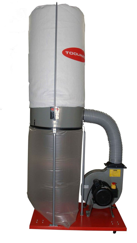 Toolmate Dust Extractor, Single Stage, 2HP