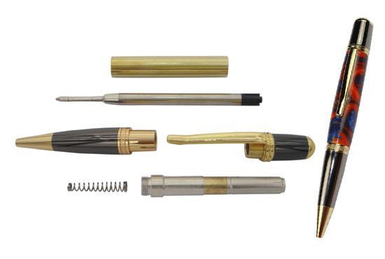 Pen Kit Sierra Gold & Gun Metal