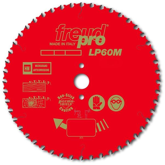 Freud Sawblade, Professional, Ø-260mm, 60 Tooth, LP60M013P