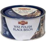 Liberon Black Bison Paste Wax Victorian Mahogany, 500ml