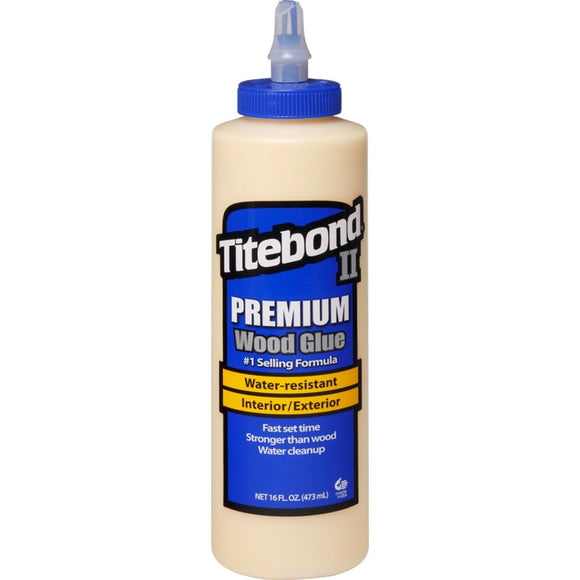 Titebond II Premium Wood Glue, 16oz (475ml)